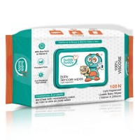 Buddsbuddy Baby Skincare Wet Wipes, 100 Pcs (60gsm)