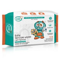 Buddsbuddy Baby Skincare Wet Wipes, 72 Pcs (45gsm)