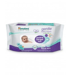 Buy Himalaya Gentle Baby Extra Large Wipes - 12 sheets Online in India