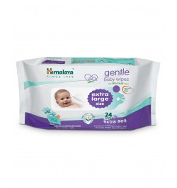 Buy Himalaya Gentle Baby Extra Large Wipes - 24 sheets Online in India