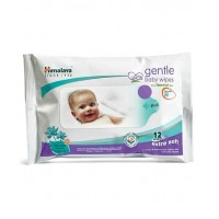 Himalaya Gentle Baby Wipes - 12 sheets