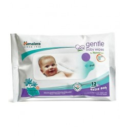 Buy Himalaya Gentle Baby Wipes - 12 sheets Online in India