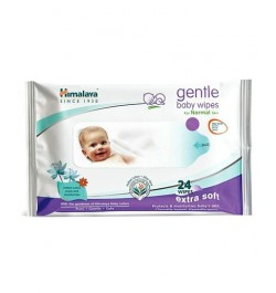 Buy Himalaya Gentle Baby Wipes - 24 sheets Online in India