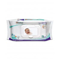 Himalaya Gentle Baby Wipes - 72 sheets