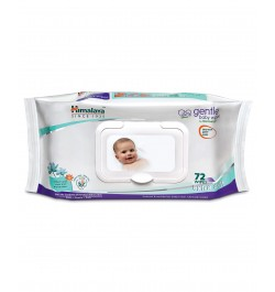 Buy Himalaya Gentle Baby Wipes - 72 sheets Online in India