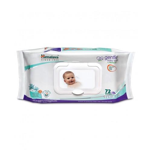 Himalaya Gentle Baby Wipes - 72 sheets