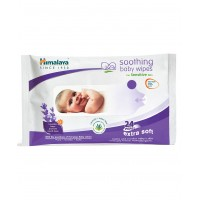 Himalaya Soothing Baby Wipes - 24 sheets