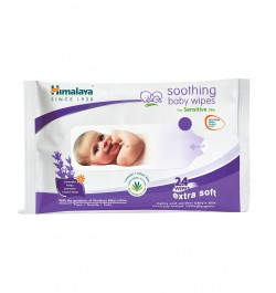 Buy Himalaya Soothing Baby Wipes - 24 sheets Online in India