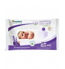Himalaya Soothing Baby Wipes - 24 sheets