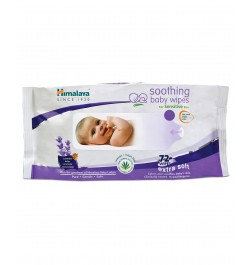 Buy Himalaya Soothing Baby Wipes - 72 sheets Online in India