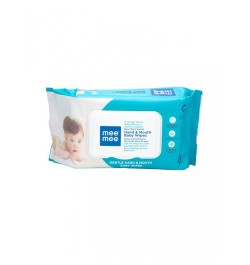 Buy Mee Mee 100% Foodgrade Gentle Hand & Mouth Baby Wipes (72pcs) Online in India