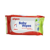 Pigeon Baby Wipes, Chamomile & Rosehip Organic Extracts 30S