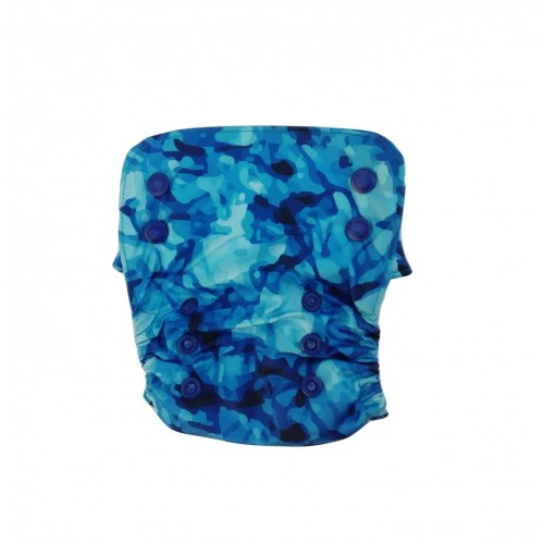 Aqua - Nano All-in-one Trim Cloth Diapers With 2 Organic Cotton Inserts, 4 K Gs To 15 Kgs One Size