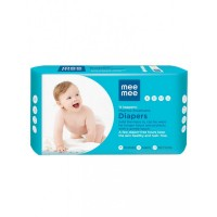 Mee Mee Premium Breathable Baby Diapers with Wetness Indicator (Small)