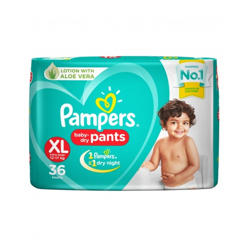 Pampers Baby-Dry Pants Extra Large - 36 Pieces