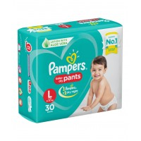 Pampers Baby-Dry Pants Large - 30 Pieces