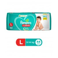 Pampers Baby-Dry Pants Large - 44 Pieces