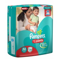 Pampers Baby-Dry Pants Medium - 20 Pieces