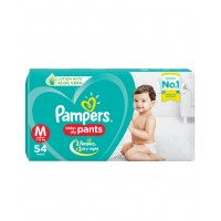 Pampers Baby-Dry Pants Medium - 54 Pieces