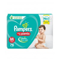 Pampers Baby-Dry Pants Medium - 76 Pieces