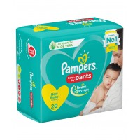 Pampers Baby-Dry Pants Small - 20 Pieces