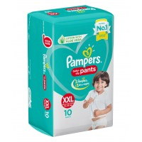 Pampers Baby-Dry Pants XX Large - 10 Pieces