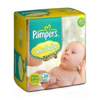 Pampers New Baby Diapers Newborn - 24 Pieces
