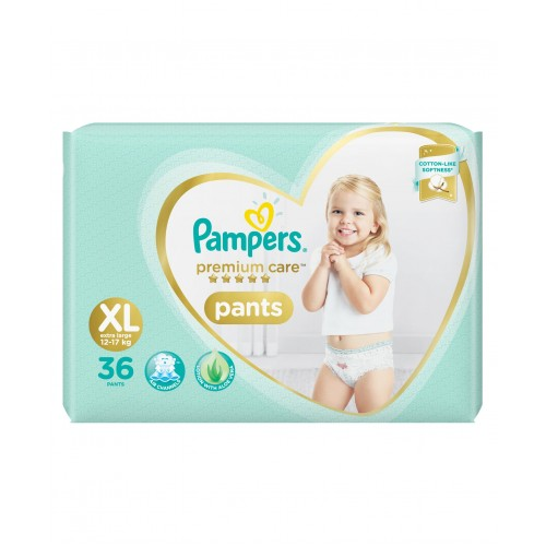 Pampers Premium Care Diaper Pants Extra Large - 36 Pieces