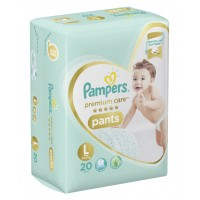 Pampers Premium Care Diaper Pants Large - 20 Pieces