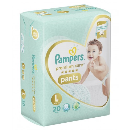 Pampers Premium Care Diaper Pants Large - 20 Pieces