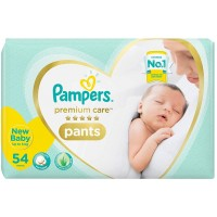 Pampers Premium Care Diaper Pants Newborn - 54 Pieces