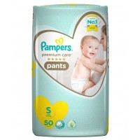 Pampers Premium Care Diaper Pants Small - 50 Pieces