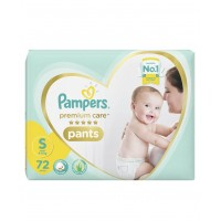 Pampers Premium Care Diaper Pants Small - 72 Pieces