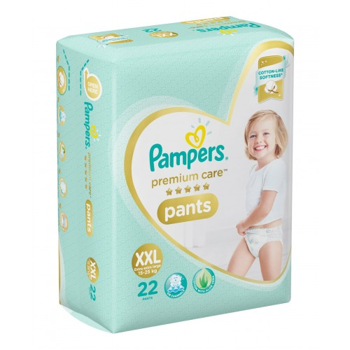 Pampers Premium Care Diaper Pants XX Large - 22 Pieces