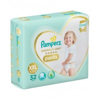 Pampers Premium Care Diaper Pants XX Large - 32 Pieces