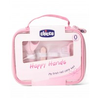 Chicco Nail Care Set Happy Hands (Pink)