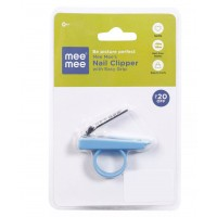 Mee Mee Gentle Nail Clipper with Easy Grip (Blue)