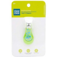 Mee Mee Gentle Nail Clipper with Skin Protector (Green)
