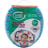 Buddsbuddy Soft Baby Potty Seat without Handle, Dark Blue