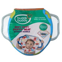 Buddsbuddy Soft Baby Potty Seat with Handle, Blue