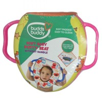 Buddsbuddy Soft Baby Potty Seat with Handle, Pink