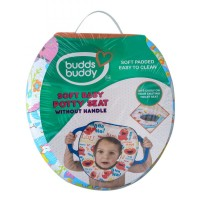 Buddsbuddy Soft Baby Potty Seat without Handle, Blue