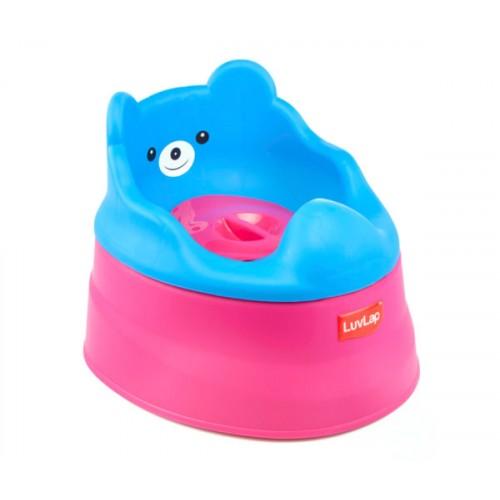 Luvlap Baby Potty Training Seat – Rose & Blue