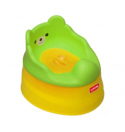 Luvlap Baby Potty Training Seat – Yellow & Green