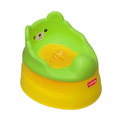 Luvlap Baby Potty Training Seat – Yellow & Green