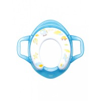 Mee Mee Soft Cushioned Non-Slip Potty Seat with Easy Grip Handles(Blue)