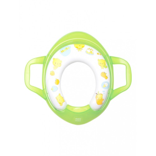 Mee Mee Soft Cushioned Non-Slip Potty Seat with Easy Grip Handles(Light Green)