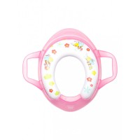 Mee Mee Soft Cushioned Non-Slip Potty Seat with Easy Grip Handles(Pink)