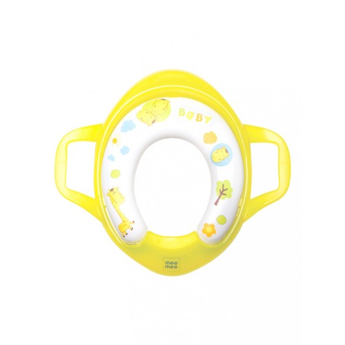 Mee Mee Soft Cushioned Non-Slip Potty Seat with Easy Grip Handles(Yellow)