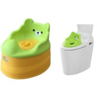 R for Rabbit Tiny Tots – Adaptable Potty Training Seat (Green Yellow)